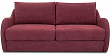 DOMO. Collection Sofa Echo, 2-Sitzer mit Hocker,