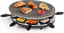 Domo do-9058g Raclette für 8Personen schwarz