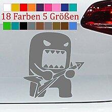 Domo Kun Gitarre Aufkleber VW Sticker JDM Anime