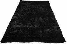 domodeko d7117Kofferraumwanne, Dekoration Polyester schwarz 60x 90cm