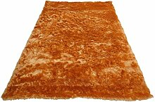 domodeko d7176 Kofferraumwanne, Dekoration Polyester hell orange 60 x 90 cm