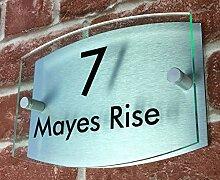 Domus House Signs Personalisiertes Aluminium und