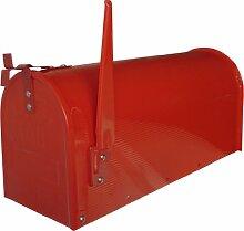 Domus USA/R Briefkasten im US-Stil, lackierter Stahl, Ro