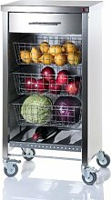 DON HIERRO–Küchenwagen mit Steel Cook