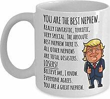 Donald Trump Neffe Becher Lustige Geschenke für