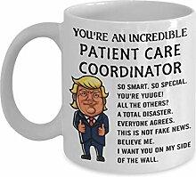 Donald Trump Patient Care Coordinator Kaffeetasse