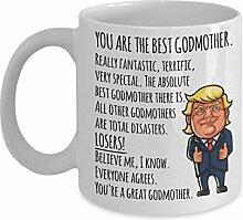 Donald Trump Patin Becher Lustige Geschenke für