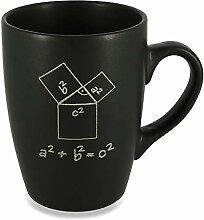 Donari ® - Matt schwarzer Kaffeebecher aus