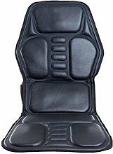 DONG Auto Massage Pad Cervical Auto Massage Kissen Körper Multi Funktion Massage Stuhl Pad Haushalt Elektrische Massagegerät (118 * 50 cm) Schwarz