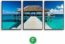DONG Fotowand Foto Wand Einfache Landschaft