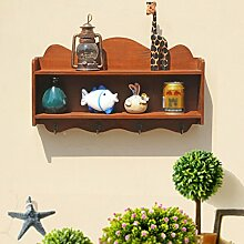 DONG Rack Kreative Retro Holz Handwerk Wand