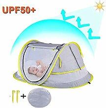 DONG Ultraleichtes Baby-Strandzelt Tragbare