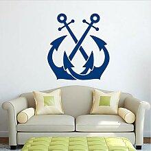 DongOJO Anchor Wandtattoo nautische Wanddekoration