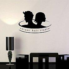 DongOJO Friseur Vinyl Applique Unisex Haar Studio