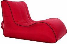 DONGY Aufblasbares Sofa für Außenluft Einfache
