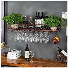 Dongyd Europäische Weinglaszahnstange Hängen