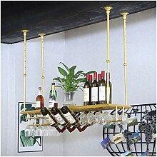 Dongyd European Goldbecher Weinglashalter,