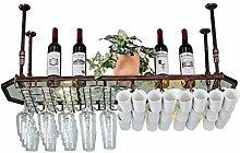 Dongyd Weinregal aus Glas, achteckig, für die