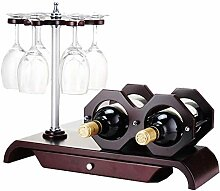 Dongyd Wine Rack 2 Bottle Aufsatz- Wine Rack