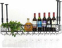 Dongyd Wine Rack Deckenhalterung für