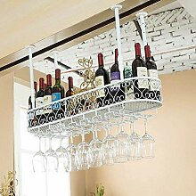 Dongyd Wine Rack Hängender Glashalter für