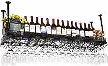 Dongyd Wine Rack Halterung für Stielgläser, aus