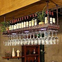 Dongyd Wine Rack Halterung für Stielgläser,