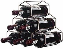 Dongyd Wine Rack Houseware Weinregal für 6