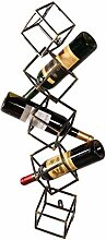 Dongyd Wine Rack Weinhalter Vintage Weinregal