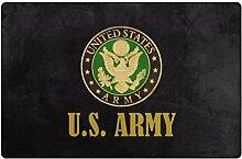Donnapink Fußmatte mit US-Boot-Logo der