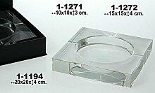 DonRegaloWeb Aschenbecher mit Glas 24% O.P 3d