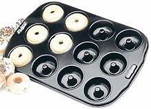 Donut-Backform, Antihaftbeschichtung, 12 Löcher,