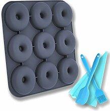 Donut-Backform - Silikon Donut Form zum Backen von
