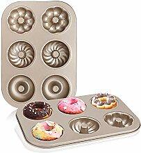 Donut-Pfanne, Beasea, 2 Stück,
