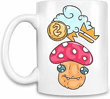 Doodle Kaffee Becher