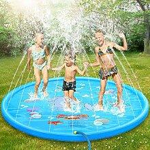 Dookey Splash Pad, Sprinkler Play Matte, Sommer
