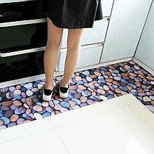 Door mats PRIDE S 3D-Matten-Matratze Tür Matratze Tür electro Lange Gummimatte Anti-Rutsch-Boden (größe : 50*120cm)