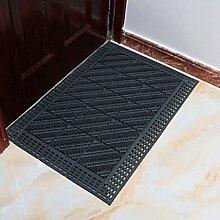 Door mats PRIDE S Außen triple Matte Matten Matratze foyer Plastiknähte rutschfeste Matte Tür Vakuum Tür (farbe : C, größe : 60cm*120cm)