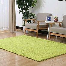 Door mats PRIDE S Feste Farbe Wohnzimmer Türmatten Schlafzimmer Teppich Nachttisch Matratze Anti-Rutsch Matte (Farbe : A, größe : 50*160cm)