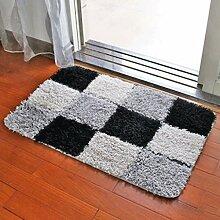 Door mats PRIDE S Matratze Türmatten Saugwirkung Matten Küche Schlafzimmer Haus Matten Bad Badezimmertür Badezimmermatte (farbe : G, größe : 60*90cm)