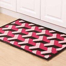 Door mats PRIDE S Wohnzimmer Matte Tür Teppich Matratze Badezimmer Wasserdichte Matte Küche Schlafzimmer Badezimmer Boden Matten (Farbe : A)