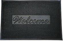 Doormat World Welcome Gummi Pin Fußmatte Innen