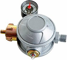 Doppel-Druckregler 50mbar Grill A GAS Gür oder Raumheizung mit Gas