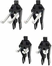 Doppel-Haken-Set - Für Werkzeuge ohne Lochung im Griff - 45° gewinkel