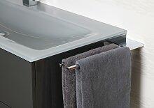 Doppel Handtuchhalter Bad Chrom Design