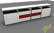 Doppel-Schiebetüren-Schubladen-Sideboard Pendo