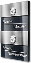 Doppel-Türklingel für Mehrfamilienhäuser -