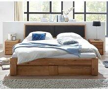 Doppelbett 160x200 cm mit Bettkasten und