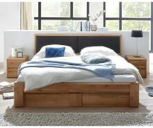 Doppelbett 200x200 cm mit Bettkasten und