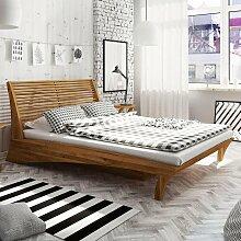 Doppelbett 'Space' Designerbett in Eiche
